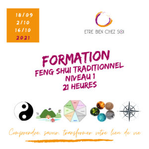 """Formation Feng Shui Traditionnel """"Les fondamentaux"""" @ EN LIGNE"""